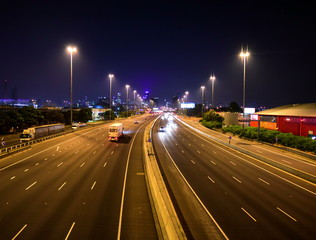 4K Traffic Time Lapse – Melbourne Freeway