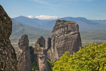 Греция. Метеоры. Величественные скалы