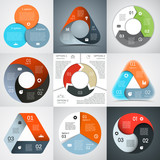 Fototapety Modern vector info graphic for business project