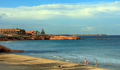 beach in the region of Alicante Spain