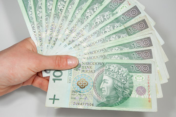 Polish money as a success in business
