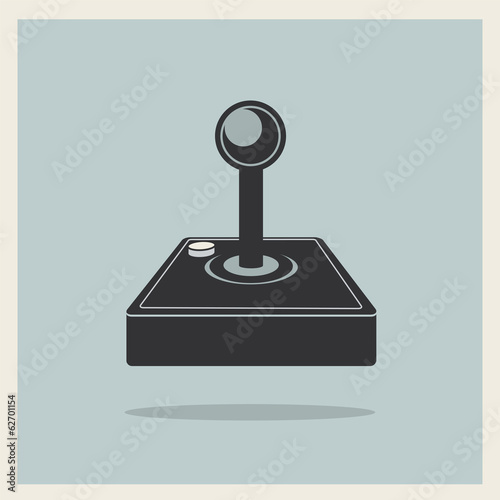 Computer Video Game Joystick Vector