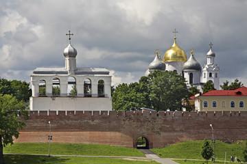 Софийская звонница в Новгородском детинце. Великий новгород