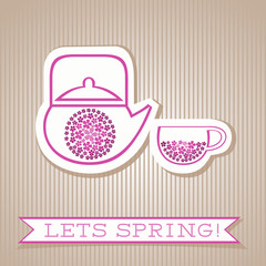 Motivation List Design With Flower Tea