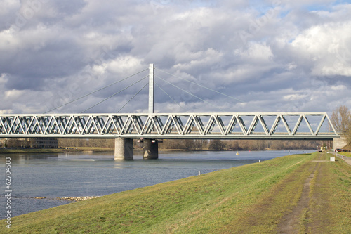 Bridge across the River Rhine 1