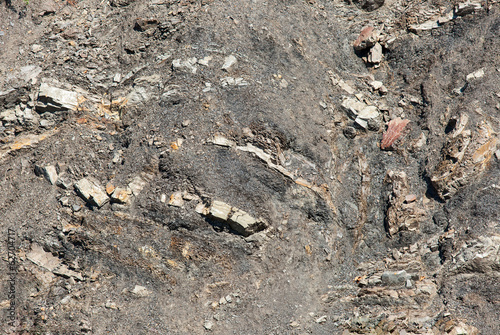 Slate rock pattern, natural mineral background