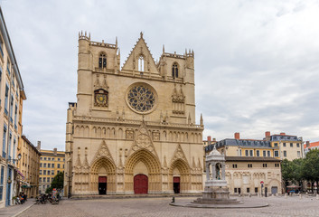 Cathedrale Saint Jean-Baptiste de Lyon, France