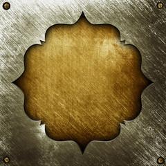 vintage metal pattern background