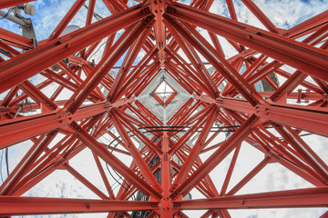 under telecommunication tower