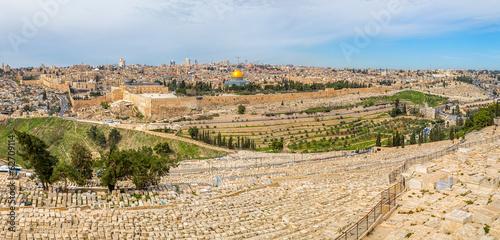 Fotobehang Midden Oosten Jerusalem panorama