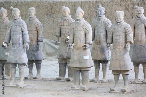 Papiers peints Xian Terra Cotta Warriors in Xian, China