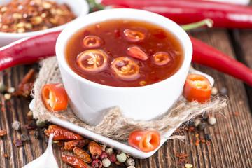 Homemade Chili Sauce