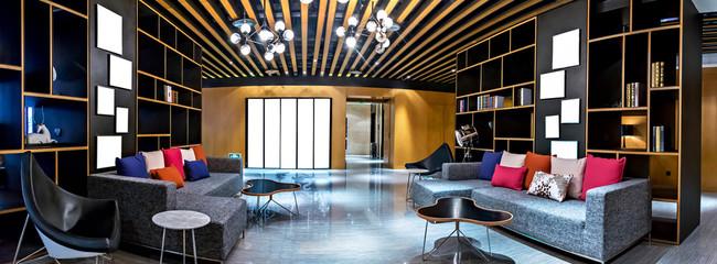Modern living room interior .