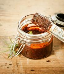 Savoury BBQ basting sauce