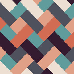 Retro style abstract stripes background