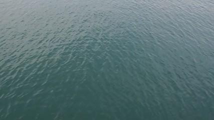 Calm sea water waves