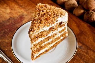 Sweet nut cake