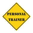 Personal Trainer Sign