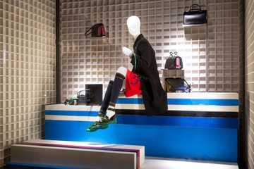 Mannequin wear stylish clothes