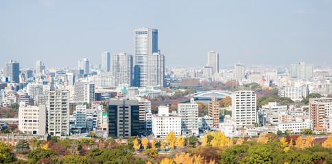 Panorama of Osaka