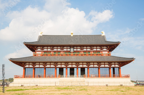 Heijo Palace in Nara
