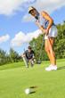Spass beim Golf
