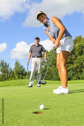Papiers peints Golf Putt zum Birdie
