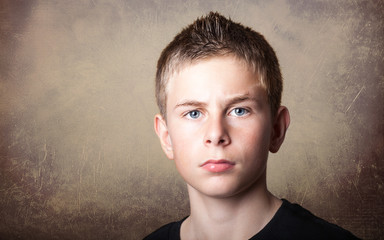 Young boy portrait