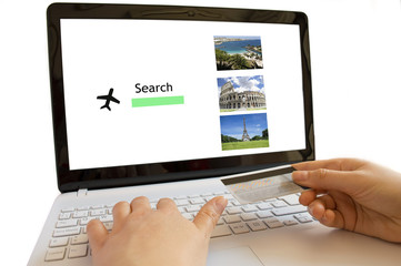 looking online flights