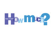 """""""HOW MUCH?"""" Letter Collage (questions price cost quantity FAQ)"""