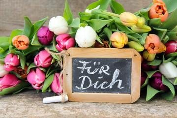 Tulpen für Dich