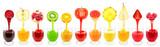 Fototapety fruit juices