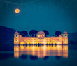 Jal Mahal palace.  Jaipur, Rajasthan, India