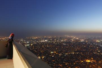 Türkei, Istanbul, Blick von Sapphire Wolkenkratzer in Levent