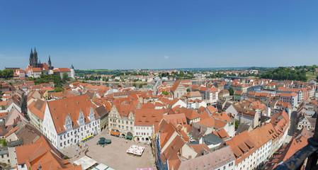 Deutschland, Sachsen, Ansicht von Meißen Altstadt