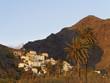 Spanien, La Gomera, Blick von La Calera