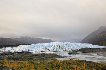 USA, Alaska, Ansicht der Chugach Mountains, Matanuska Matanuska Tal und Fluss