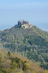 Deutschland, Baden Württemberg, Blick auf die Burg Hohenzollern