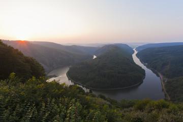 Deutschland, Saarland, Ansicht der Saar