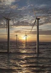 Deutschland, Windkraftanlagen in der Nordsee