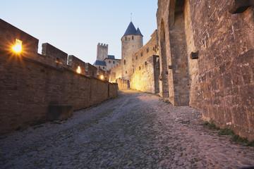 Frankreich, Ansicht von Carcassonne
