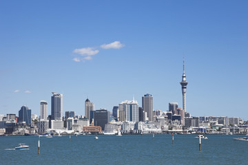 Neuseeland, Blick auf Skyline City Center