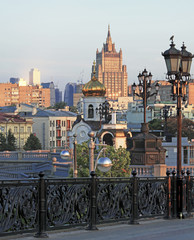 Moscow. View from the Patriarshiy bridge