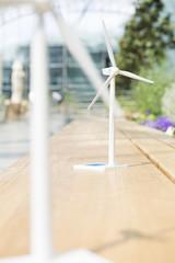 Deutschland, Hannover, Modell der Windmühle