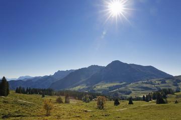 Österreich, Salzburg, Ansicht der Postalm
