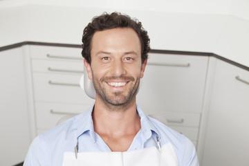 Deutschland, Patient in Zahnarztpraxis