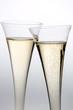 Champagner oder Sekt im Sektglas