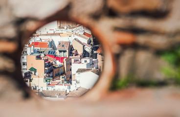 Spanien, Malaga, Nahaufnahme von Malaga
