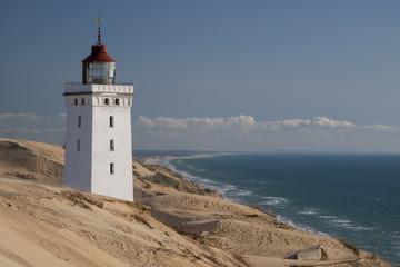 Dänemark, Blick auf Rubjerg Knude Leuchtturm am Nordsee