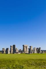 England, Wiltshire, Ansicht von Stonehenge